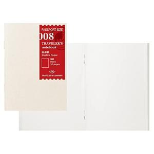 トラベラーズノート リフィル 画用紙 2冊パック パスポートサイズ 14372006