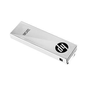 HP USBメモリ 32GB USB 2.0  クリップデザイン 金属製 耐衝撃 防滴 防塵 のフラ...