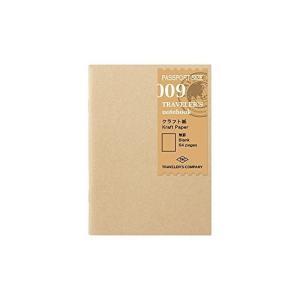 トラベラーズノート リフィル クラフト紙 2冊パック パスポートサイズ 14373006