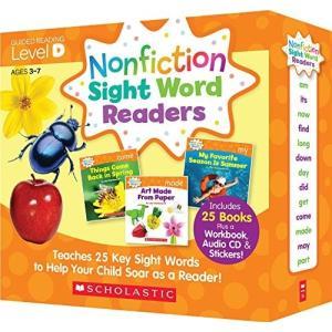 スカラスティック Nonfiction Sight Word Readers レベル D 英語教材 ...