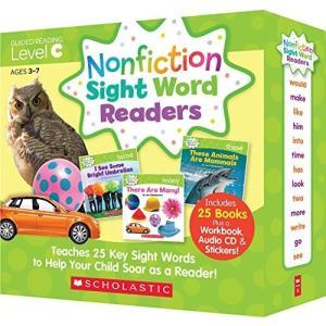 スカラスティック Nonfiction Sight Word Readers レベル C 英語教材 ...