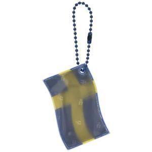 グリミス Glimmis フラッグ スウェーデン 北欧 リフレクター 反射 キーホルダー 再帰反射素...