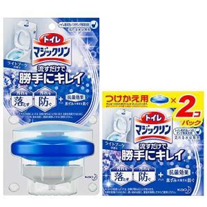 トイレマジックリン トイレ用洗剤 流すだけで勝手にキレイ ブーケの香り 本体+付替用
