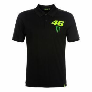 ヤマハ(YAMAHA) ポロシャツ VR46 ヴァレンティーノ ロッシ ブラック XLサイズ(欧州)...