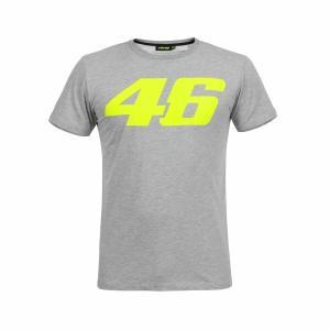 ヤマハ(YAMAHA) Tシャツ VR46 ヴァレンティーノ ロッシ 46ロゴ グレー Mサイズ(欧...