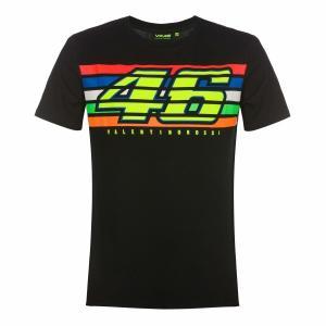 ヤマハ(YAMAHA) Tシャツ VR46 ヴァレンティーノ ロッシ 46&ザ・ドクターロゴ ブラッ...