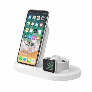 ベルキン iPhone + Apple Watch用 ワイヤレス充電器 Series 1 / 2 /...