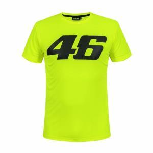 ヤマハ(YAMAHA) Tシャツ VR46 ヴァレンティーノ ロッシ 46ロゴ イエロー Mサイズ(...