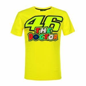 ヤマハ(YAMAHA) Tシャツ VR46 ヴァレンティーノ ロッシ 46&ザ・ドクターロゴ イエロ...