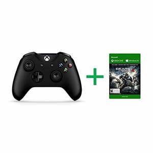 Xbox One ワイヤレス コントローラー(ブラック)+Gears of War 4 配信 セット