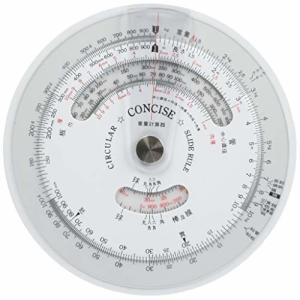 コンサイス 定規 円形計算尺 重量計算器 100843
