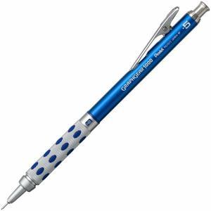 ぺんてる シャープペン グラフギア1000 ブルー PG1015-11AMZ 0.5mm