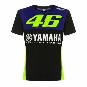 ヤマハ(YAMAHA) Tシャツ VR46 ヴァレンティーノ ロッシ 46&ヤマハファクトリーレーシ...