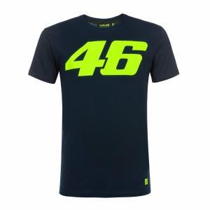 ヤマハ(YAMAHA) Tシャツ VR46 ヴァレンティーノ ロッシ 46ロゴ ブルー Lサイズ(欧...