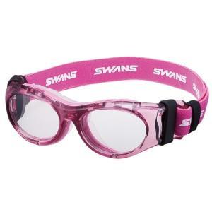 SWANS(スワンズ) アイガード SVS-700N 6歳~10歳まで クリアピンク×クリア スポーツ用メガネフレーム