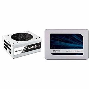 Corsair RM850x-White- 850W PC電源ユニット (80PLUS GOLD) ...