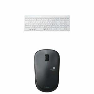 エレコム 無線超薄型コンパクトキーボード TK-FDP099TWH & エレコム ワイヤレスIR L...