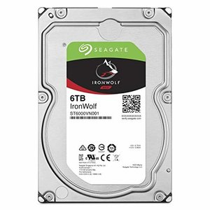 "Seagate IronWolf 3.5"" 6TB 内蔵HDD(CMR) 3年保証 6Gb/s 25..."