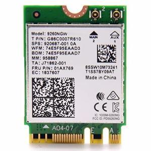 intel WIRELESS-AC 9260 M.2(2230 A/E) 802.11ac wave2 (1,733MHz 2x2 HT160) Bluetooth5.0の画像