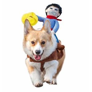 セントアイランド Ct.Island 犬 ペット 服 コスプレ コスチューム 背中乗り カウボーイ ドッグラン M の商品画像 ナビ