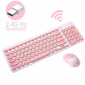 ワイヤレスキーボード keyboard 薄型 静音設計 軽量ワイヤレスキーボード 英語US配列ワイヤ...