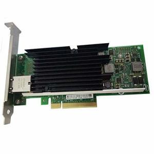 インテル X540-T1 10 Gbs イーサネットコンバージドネットワークアダプター シングルRJ45 ポート PCI Express LANカーの画像