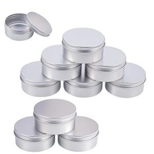 BENECREAT 10個セット150mlアルミ缶 アルミネジキャップ缶 小分け容器 詰め替え容器 クリームケース 化粧品 クリ|shimoyana