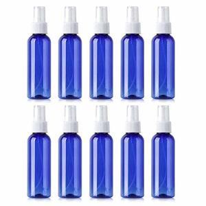 10個セット スプレーボトル 詰替ボトル 次亜塩素酸水対応 透明小分けボトル 遮光 容器 青色 (30ml)|shimoyana