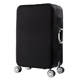 HIMI スーツケースカバー キャリーカバー ラゲッジカバー 無地伸縮素材 傷防止 汚れ防止 耐久性 弾力性 洗える|shimoyana