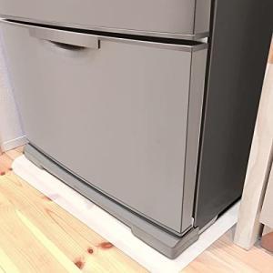 冷蔵庫 マット 65*70cm 冷蔵庫下敷きマット キズ防止 Sサイズ 硬質PE製 厚み2mm 床暖房対応 冷蔵庫シート 巻き癖|shimoyana
