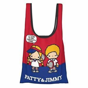 防水 パティ&ジミー エコバッグ ショッピングバッグ 大容量 折りたたみ コンパクト レジ袋 買い物袋 軽量 ポ|shimoyana