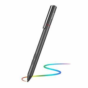 Penoval surface用 ペン サーフェス対応 タッチペン スタイラスペン マイクロソフト認証 最大4096筆圧感知 消しゴ shimoyana