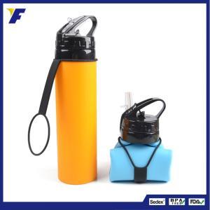 アウトドア携帯式ボトル 折りたたみ水筒 シリコンボトル スポーツボトル 食品グレード 超軽量 耐冷耐熱 無毒無臭た|shin-8