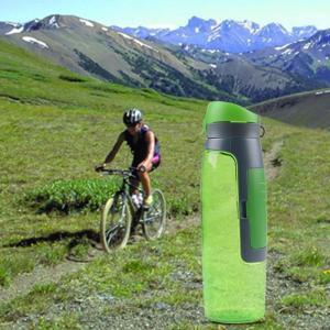 水筒 折りたたみ シリコンボルト 持運便利 大容量ウォーターボトル サイクリング/トレッキング/ランニング|shin-8