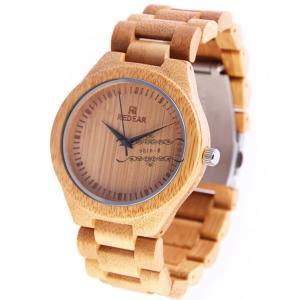 腕時計 竹製 木 メンズ レディース クォーツ カップル 天然木 クォーツ時計 木の温もり 上品 ファション おしゃれ かっこいい 人気急上昇|shin-8