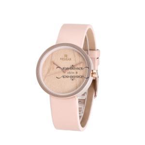 レディース 腕時計 木製 レザーバンド クォーツ時計 きれいめ かわいい シンプル 通学 通勤 オシャレ ファション 上品 品質 元気|shin-8