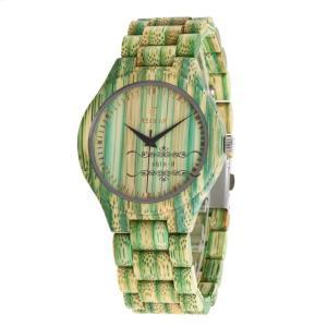 竹製 腕時計 木製 天然 レディース メンズ 軽い 木製腕時計 オシャレ カップル ペア ペアルック グリーン 人気 新作 シンプル 上品 大人 ビジネス|shin-8