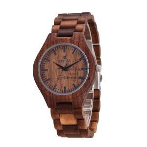 木製腕時計 メンズ クォーツ時計 クルミ 天然木 自然に優しい 上品 大人 シンプル オシャレ 木の香り 木の温もり 普段着 お祝い ビジネス|shin-8