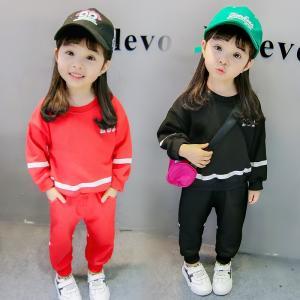 子供服 韓国 レギンス ブラウス+パンツ 2点セット キッズ 上下セット パンツセット カラバリ レース 子ども服 秋 冬 キッズ用|shin-8