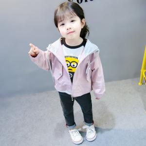 子供服 トップス キッズ フード付き デニム Gジャン ゆったり 春秋 ファッション感 学生服 ジュニア|shin-8