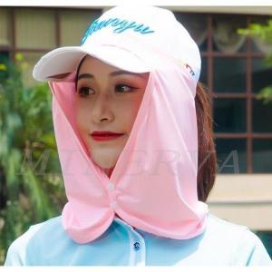 ゴルフウエア 4WAY帽子サファリハット バケットハット UVカット レディース 折り畳み つば広 海 ラッシュガード虫よけ 紫外線対策 通気性 2018年夏用 shin-8