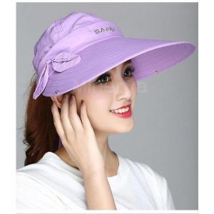 2019年夏新作 レディース サファリハット ゴルフウエア UVカット 4WAY帽子  折り畳み つば広 海 ラッシュガード 日よけ 虫よけ 紫外線対策 通気性 shin-8