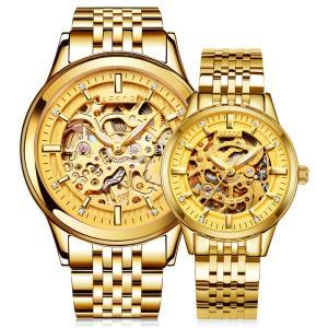 ペアウォッチ カップル 人気 セット Aesop腕時計 セイコー製 メンズ 腕時計 クロノグラフ レディース うでどけい ブランド 機械式|shin-8