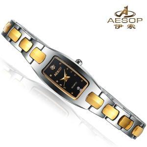 腕時計 クロノグラフ レディース 30m防水 Aesop腕時計 レディス うでどけい ブランド 機械式|shin-8