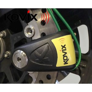 KOVIX V字型 ディスクロック 盗難 防止 鍵 カギ 錠 バイク オートバイ