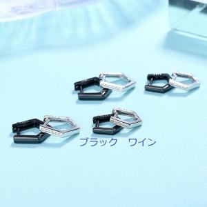 イヤリング デザイン カップル シンプル おしゃれ ピアス 幾何学 韓国ファッション 男女 人気 ファッション小物|shin-8