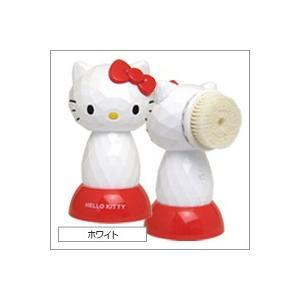 ハローキティ 4Dフェイシャルブラシ ホワイト|shinbeejapan
