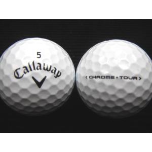 ロストボール ランク1 Callaway キャロウェイ CHROME・TOUR 16年モデル ホワイト