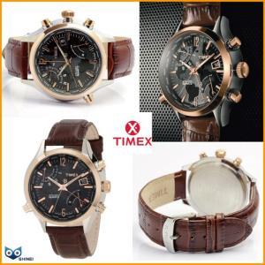 TIMEX タイメックス メンズ ワールドタイムの本皮シリーズT2N942 1年保障|shinei-store