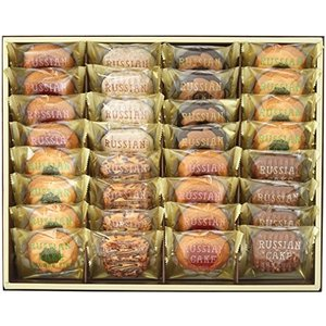 中山製菓 ロシアケーキ 32個